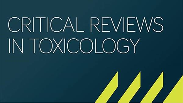 Critical Reviews in Toxicology cover