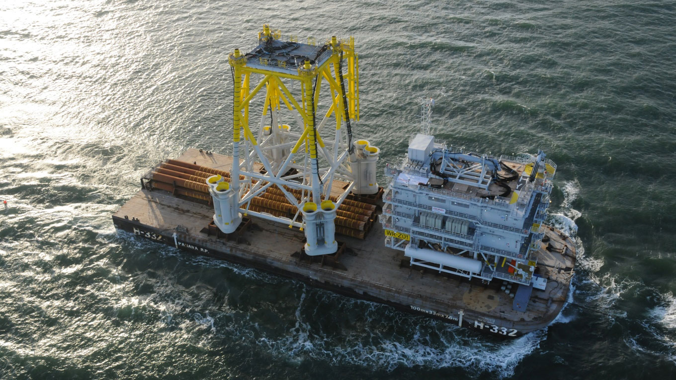 Offshore substation design