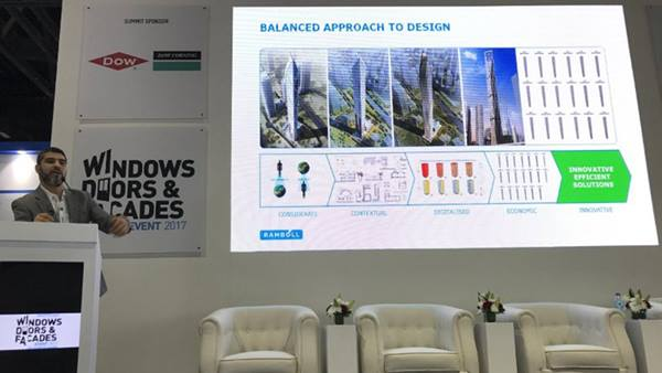 Ramboll presents at the Dubai Windows, Doors & Facades Event
