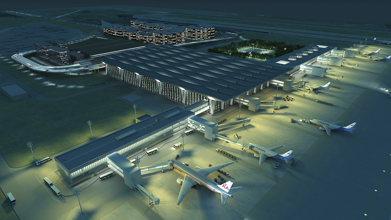 Redevelopment of Pulkovo Airport