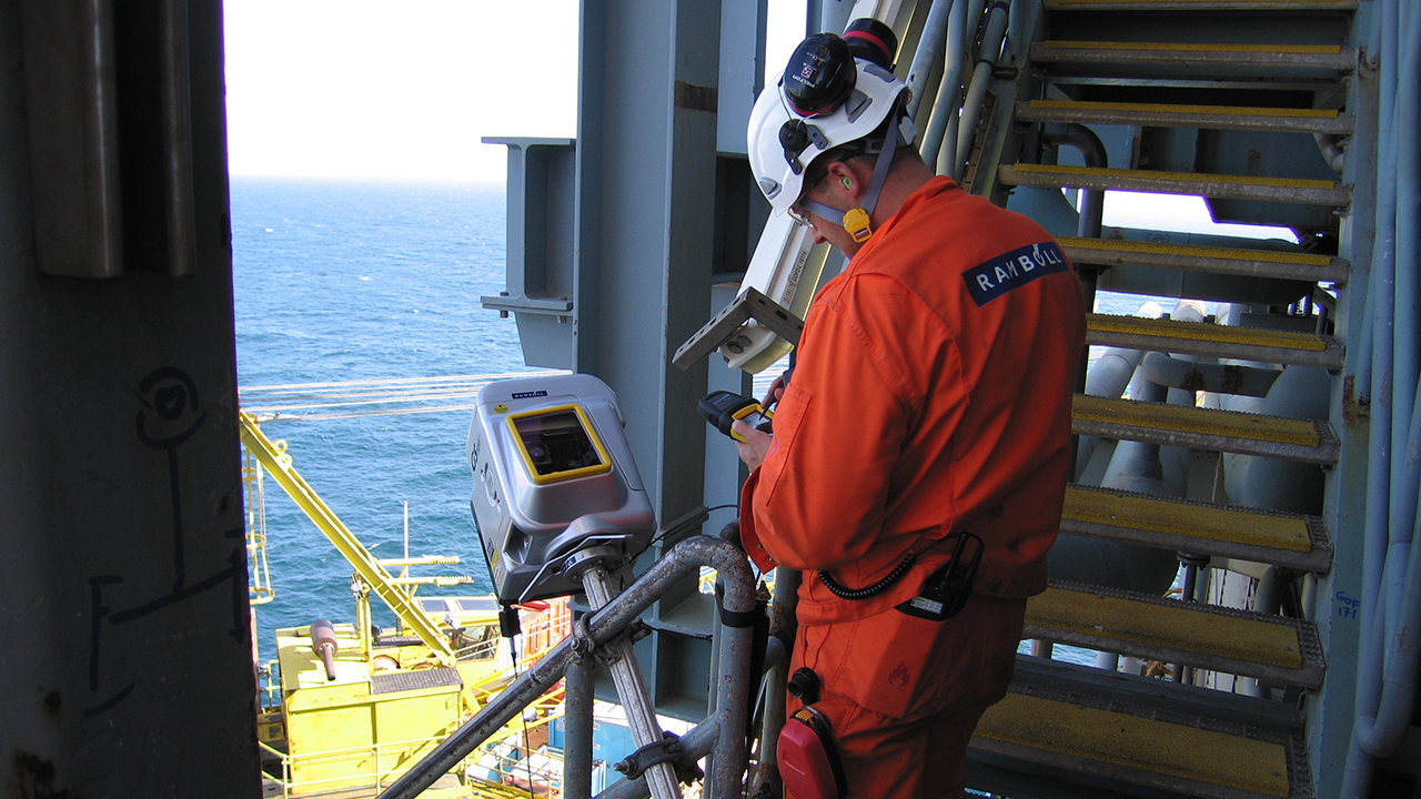 3D laser scanning and survey often proves to save resources on offshore projects