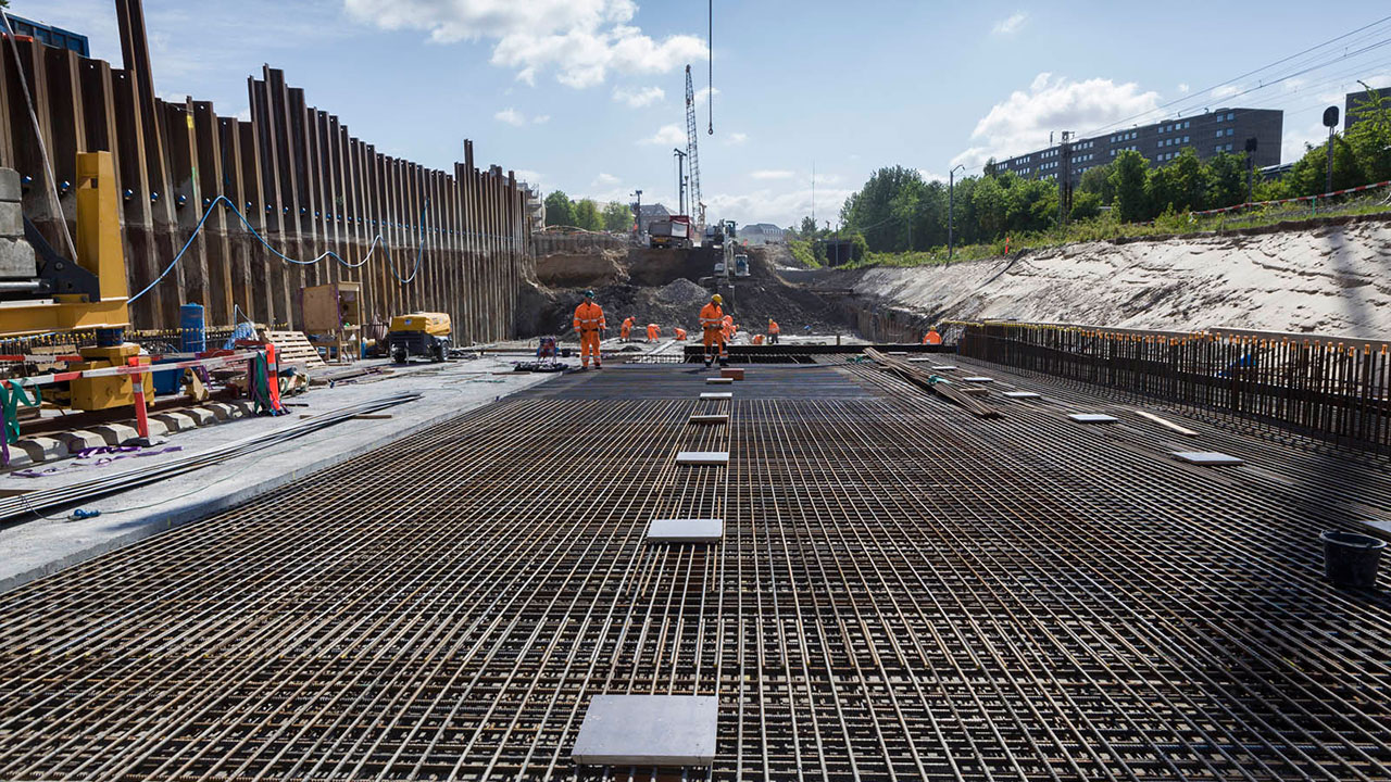 Nordhavnsvej – the largest road construction project in ...